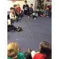 We played 'Whose Santa?'