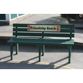 Our Friendship Bench in the main playground
