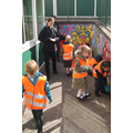 Owl Class - Picking up litter 26/4/16