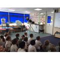 'Luke Sky-Watcher' Mr Gallagher's telescope
