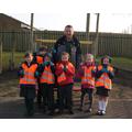 Hedgehog Class - litter patrol 15/3/16