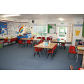 Squirrels Classroom, Year 2, in the new build