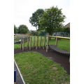 Early Years trim trail in upper playground