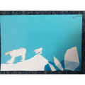 Cut paper polar bear by Patryk (P4)