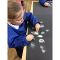 Creating distant galaxies by smudging chalk