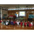 Caroline from our school kitchen shared her knowledge with us about healthy eating.