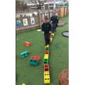 Repeating pattern bridge!