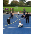 Year 2 had to work on their listening skills in order to win the games_