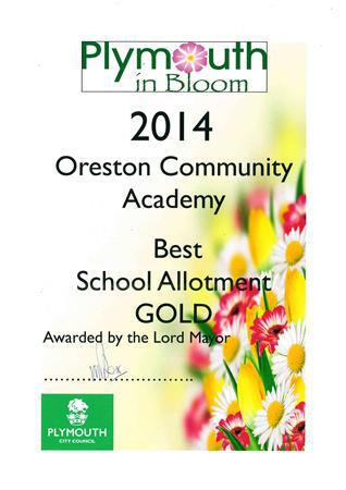 The Plymouth In Bloom Award