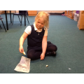 Year 2 set up an exciting experiment, investigating how much mould will grow on bread that has been touched by very clean hands, dirty hands and normal hands.