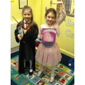 Here are Year 2 showing us their wonderful World Book Day costumes