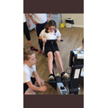 Year 6 Indoor Rowing