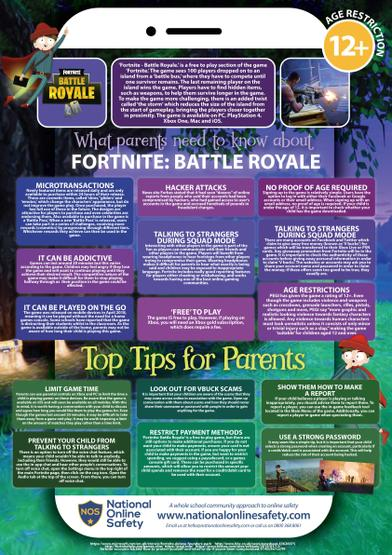 Please see a guide for parents about Fortnite. Please note that this game has an age restriction of 12+