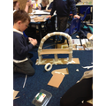 We designed and built our own bridges!