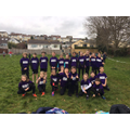 Cross country team at Devon Winter Games