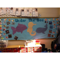 We have been learning about under the sea animals.