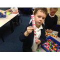 We used Multilink to make repeated patterns