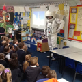 Neil Armstrong came to visit!