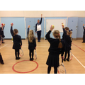 Year 2 had lots of fun at their tennis workshop this week. We tested our co-ordination and control by throwing, catching, bouncing and balancing the ball on our rackets.