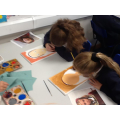 We learnt about Tudor portraits in Art.