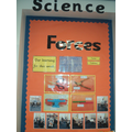In Science we are learning about Forces.