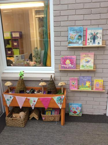 Fairy book display
