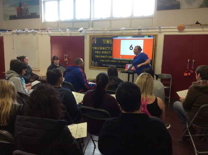 Key Stage 1 number bonds workshop February 2016