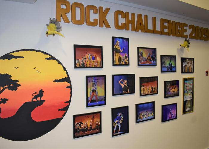 Rock Challenge display