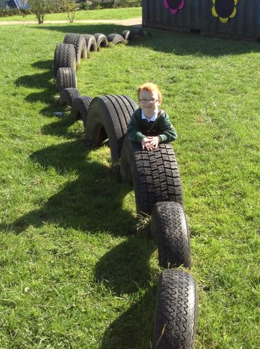 Climbing on tyres