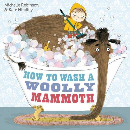We will  be writing instructions using the book How to Wash a Woolly Mammoth