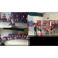 We enjoyed a drama workshop