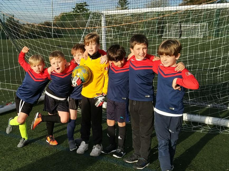 Our brilliant Y3 boys football team.