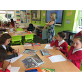 Year Six responding to Flotsam by David Wiesner