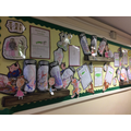 Roald Dahl arts week with writing outcomes too