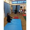 Year 1 Gymnastics session