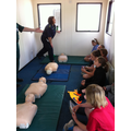 Learning and practising CPR