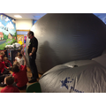Y5 Planetarium to help understanding of Space