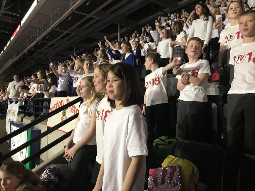 Year 5 at Young Voices 2018