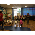 Olympic Swimmer, Jo Jackson visited school