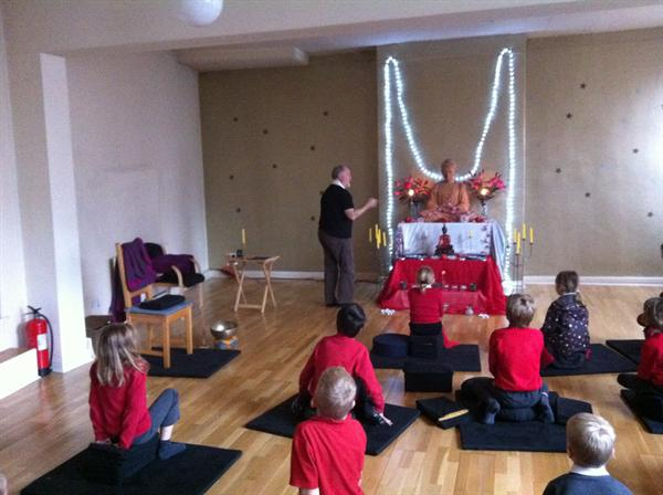 Year 3/4 visit to the Buddhist Centre, Nottingham