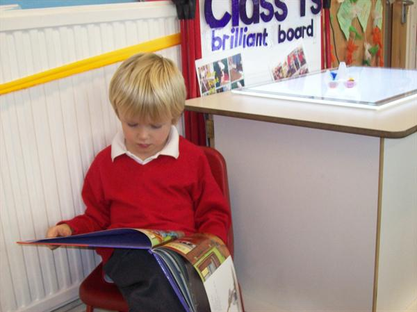 Reading in Class 1