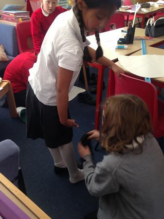 Estimating the height of the mysterious creature!