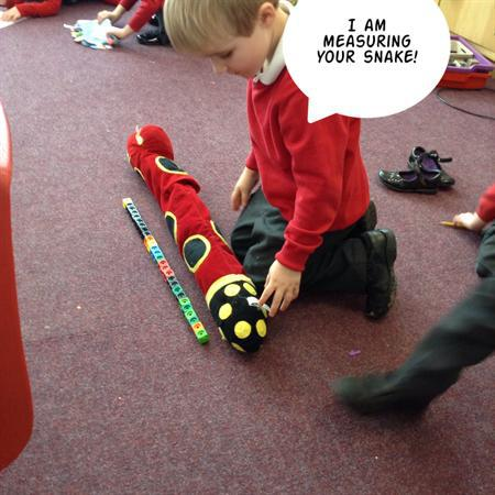 We've been learning about measuring in Foundation!
