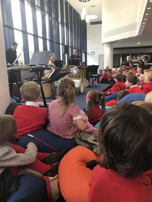 Little listeners with Opera North for Fs2 & Y1