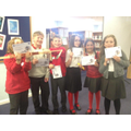 Gold champions of local schools STEM challenge