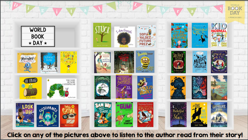 Click on the PDF above to find the interactive links to these wonderful stories
