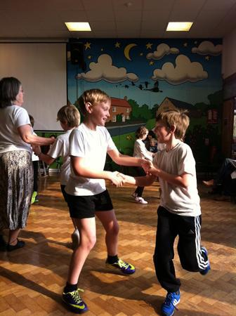 Class 4 Country Dancing lessons