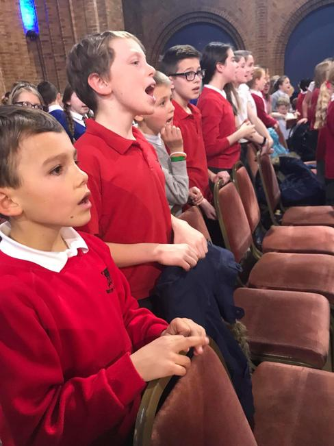 Our incredible Orston singers at Kelham Hall