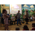 Y6 Graduating from their D.A.R.E.- roleplay