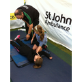 Airway, Breathing Circulation,  recovery position